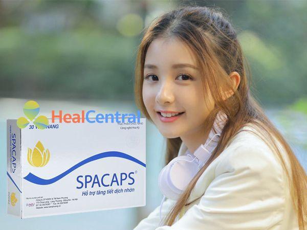 Spacaps giúp cô bé ướt át hơn