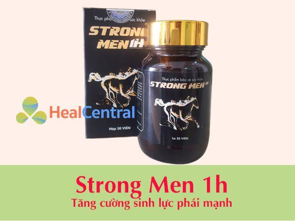 Thuốc cường dương Strong men 1h