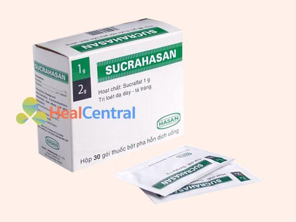 Hình ảnh hộp thuốc Sucrahasan gel 5ml