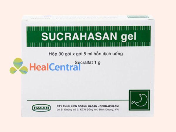 Thuốc Sucrahasan được bào chế dưới dạng gel