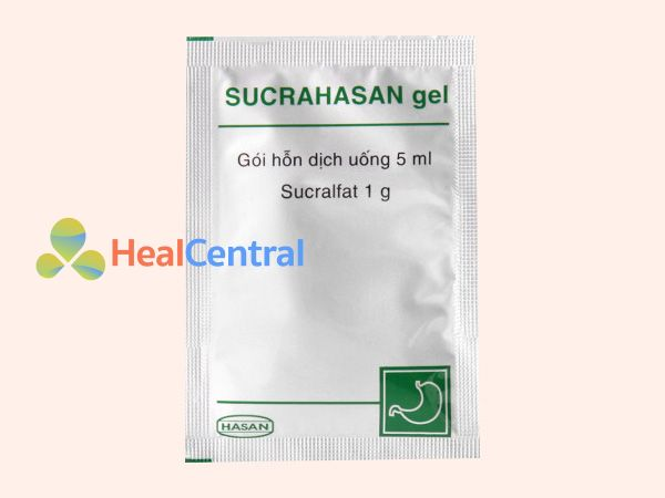 Hình ảnh gói thuốc Sucrahasan gel 5ml