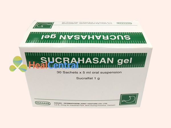 Mỗi hộp Sucrahasan có 30 gói