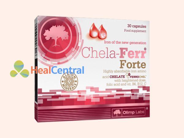 Chela – Ferr Forte bổ sung sắt thiết yếu khi mang thai