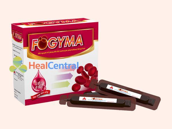 Fogyma – thuốc sắt dạng nước dành cho bà bầu