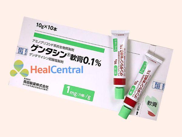 Kem trị sẹo Gentacin có xuất xứ từ Nhật Bản