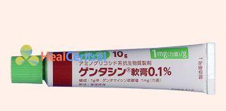 Kem trị sẹo Gentacin