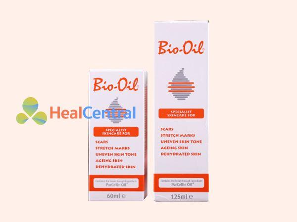 Tinh dầu Bio - oil giúp mờ vết rạn da