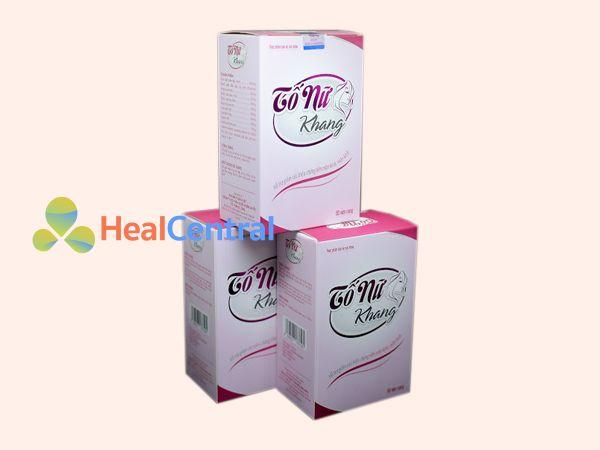 Tố Nữ Khang sản xuất bởi Công ty Dược phẩm Thăng Long