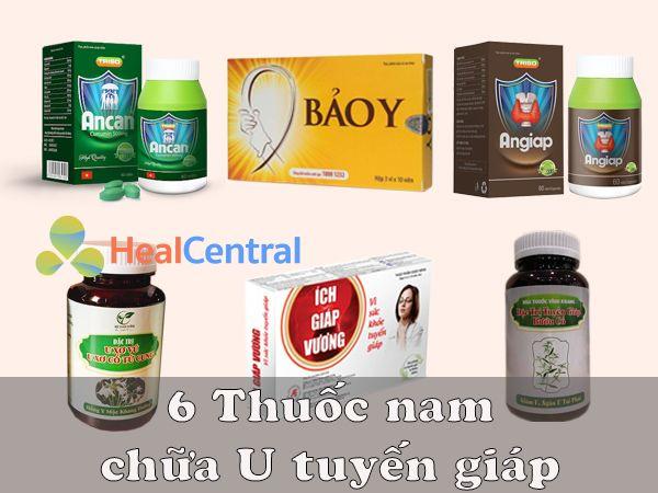6 thuốc Nam chữa U tuyến giáp hiệu quả
