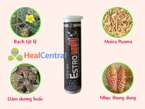 Các thảo dược có trong viên sủi EstroMen