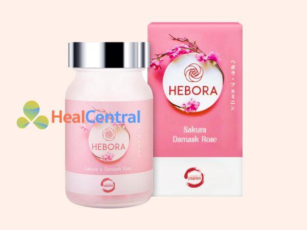 Hình ảnh hộp viên uống Hebora