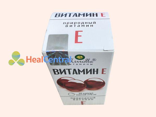 Vitamin E đỏ Nga - an toàn cho người sử dụng