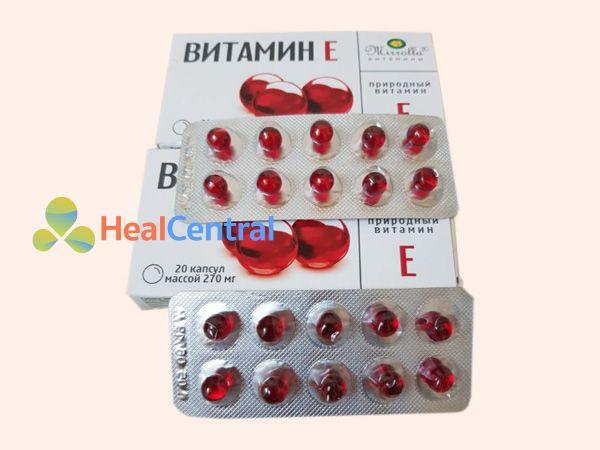 Vitamin E đỏ Nga - cải thiện làn da cho phái đẹp