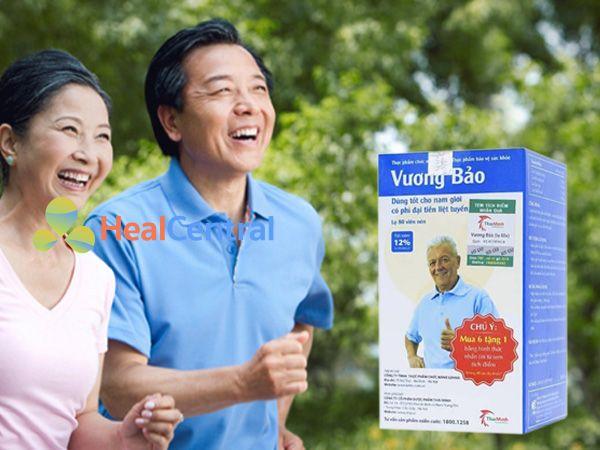 Vương Bảo - hỗ trợ điều trị phì đại tuyến tiền liệt