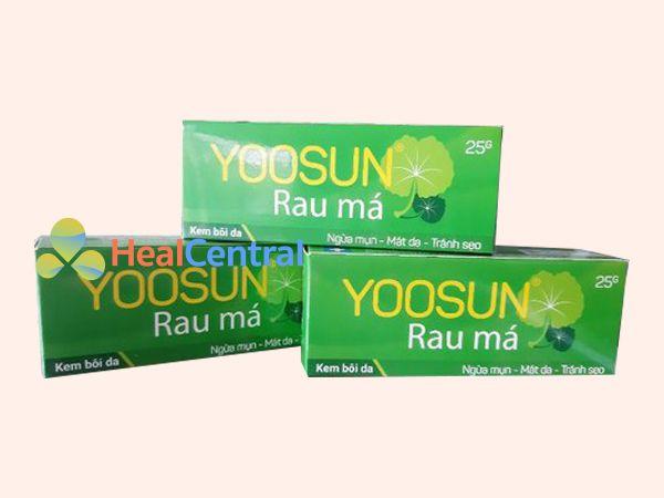 Kem trị mụn Yoosun Rau Má - giải pháp hiệu quả cho nhiều loại mụn