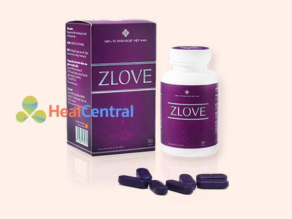 Hình ảnh hộp sản phẩm Zlove