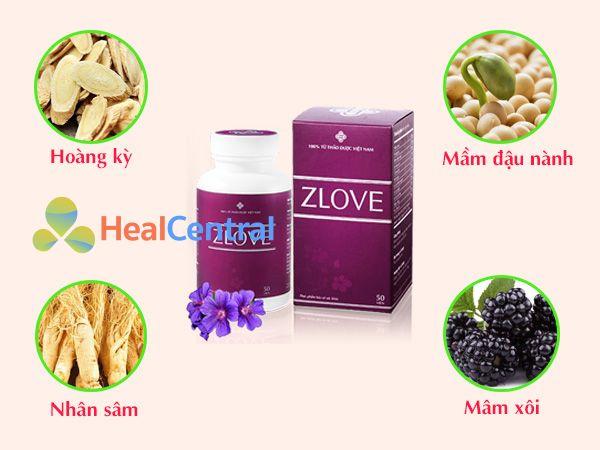 Các thảo dược quý có trong Zlove