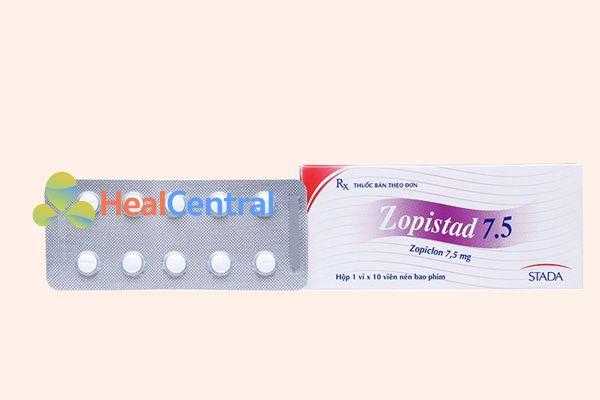 Hộp thuốc Zopistad 7.5