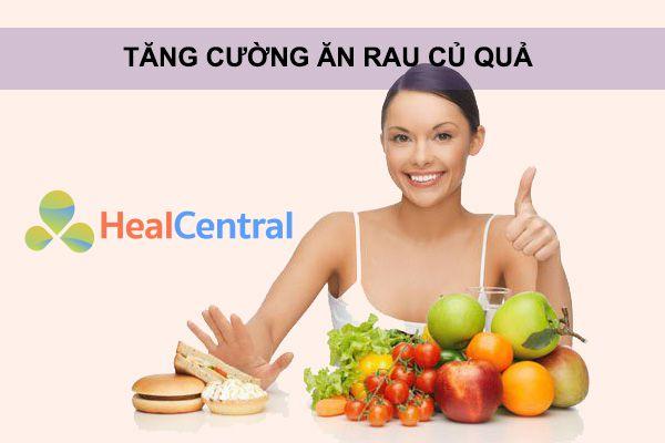 Ăn nhiều chất xơ để đem lại hiệu quả tối ưu