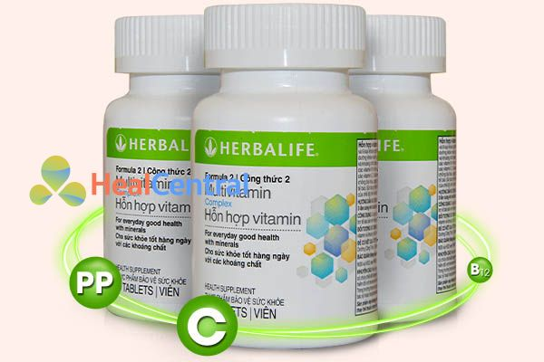 Bộ sản phẩm Vitamin Herbalife F2