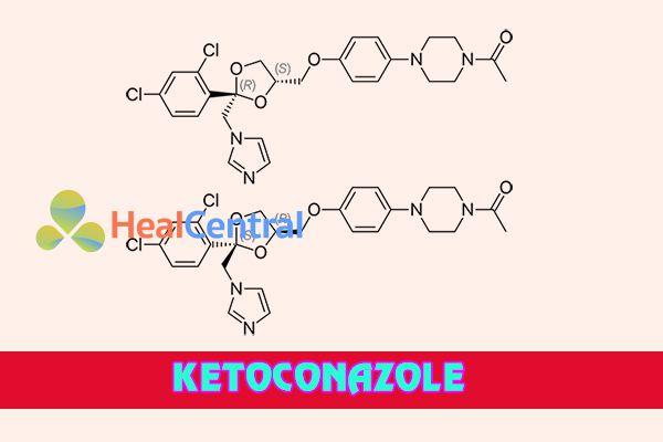Các dạng đồng phân của Ketoconazole