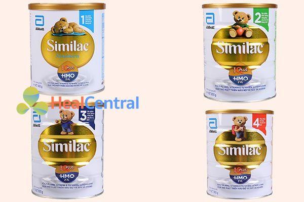 Các dòng sữa tăng cân cho bé Similac