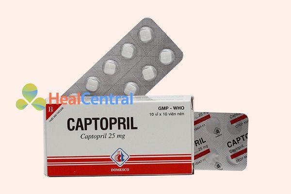 Captopril 25mg