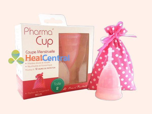 Hình ảnh hộp cốc nguyệt san Pharma cup