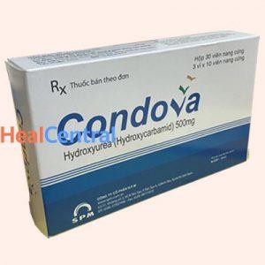 Condova không được dùng cho phụ nữ có thai