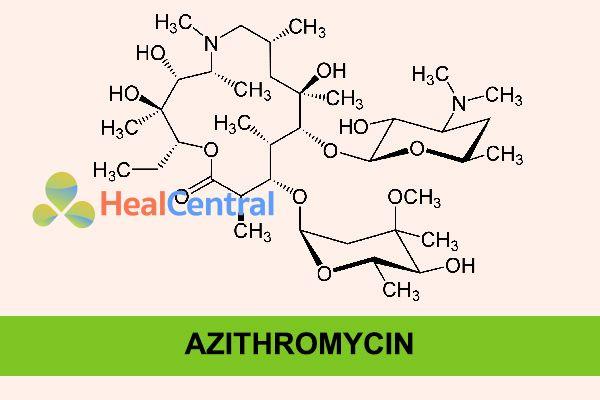 Công thức hóa học của Azithromycin