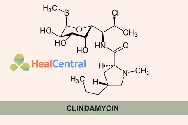 Công thức hóa học của Clindamycin