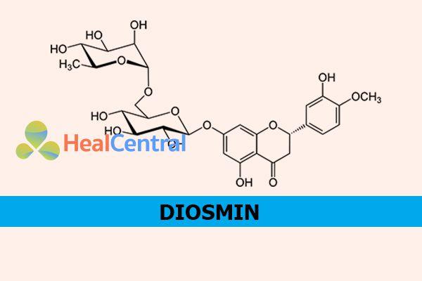 Công thức hóa học của Diosmin