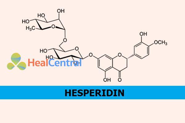 Công thức hóa học của Hesperidin