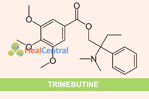 Công thức hóa học của Trimebutine