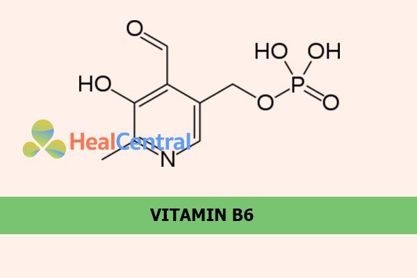 Công thức hóa học của Vitamin B6
