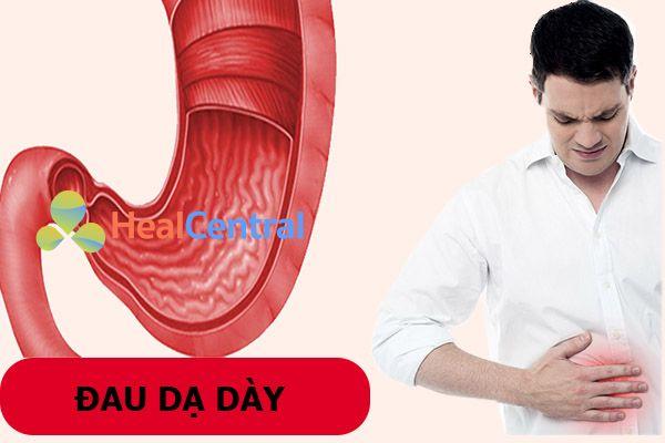 Đau dạ dày là căn bệnh đường tiêu hóa phổ biến nhất