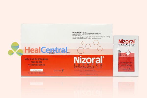 Dầu gội Nizoral Shampoo dạng gói