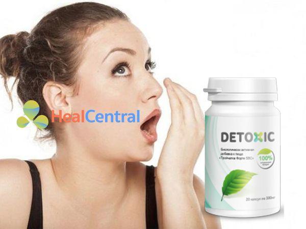 Detoxic - hơi thở không còn mùi hôi