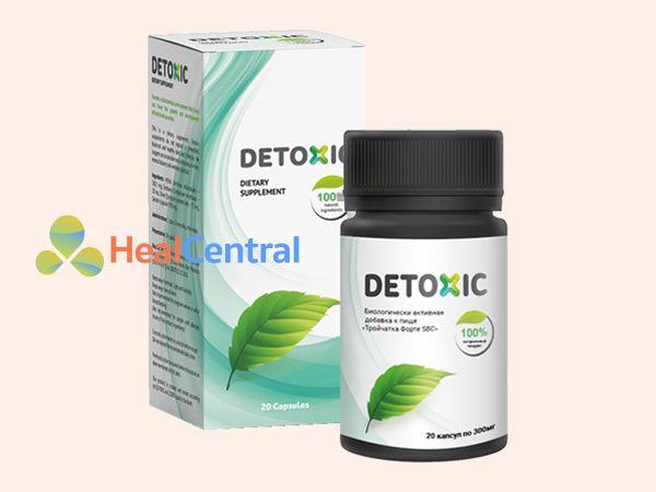 Detoxic - tiêu diệt ký sinh trùng