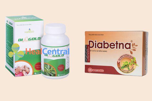 Diagold và Diabetna