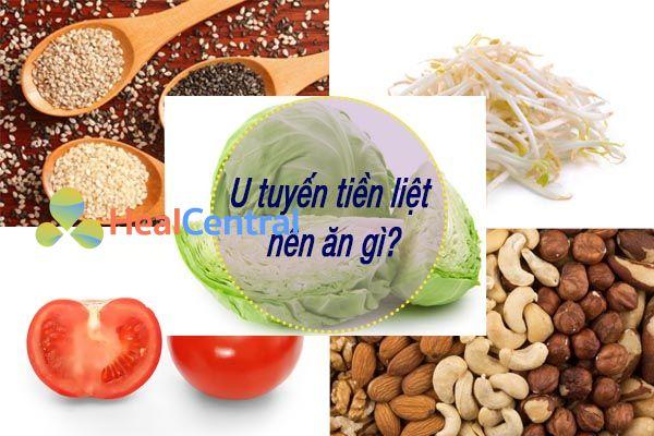 Thực phẩm bệnh nhân U tuyến tiền liệt nên ăn