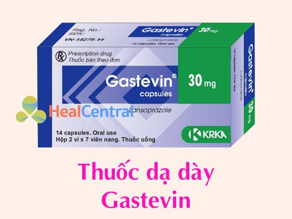 Thuốc dạ dày Gastevin
