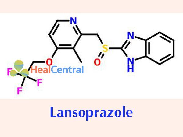 Công thức của Lansopraxole
