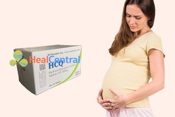 Thận trọng khi sử dụng HCQ trên phụ nữ mang thai