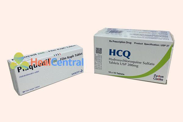 Thuốc HCQ và Plaquenil