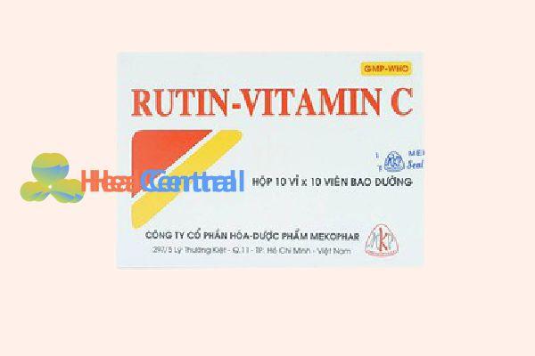 Hộp Rutin - Vitamin C