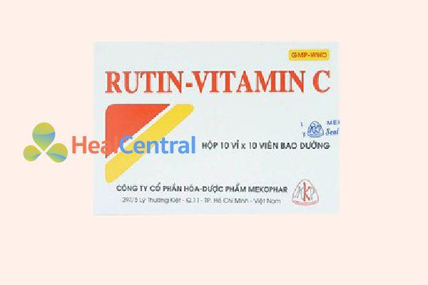 Hộp thuốc Rutin - Vitamin C