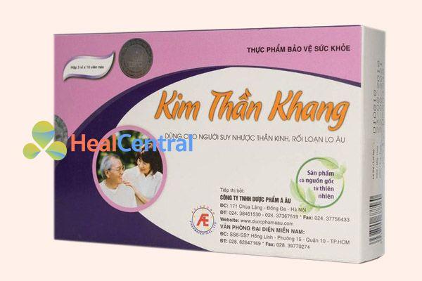 Hộp sản phẩm Kim Thần Khang