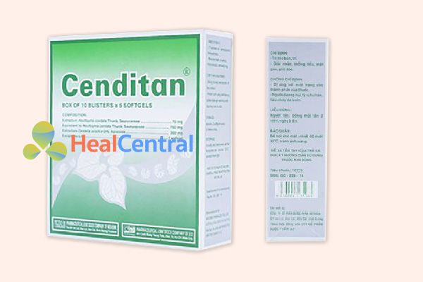 Hộp thuốc Cenditan