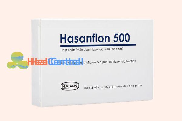 Hình ảnh: Hộp thuốc Hasanflon